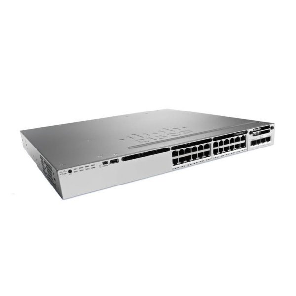 CISCO Catalyst 3850 24 Mgig Port Upoe Ip WS-C3850-24XU-E