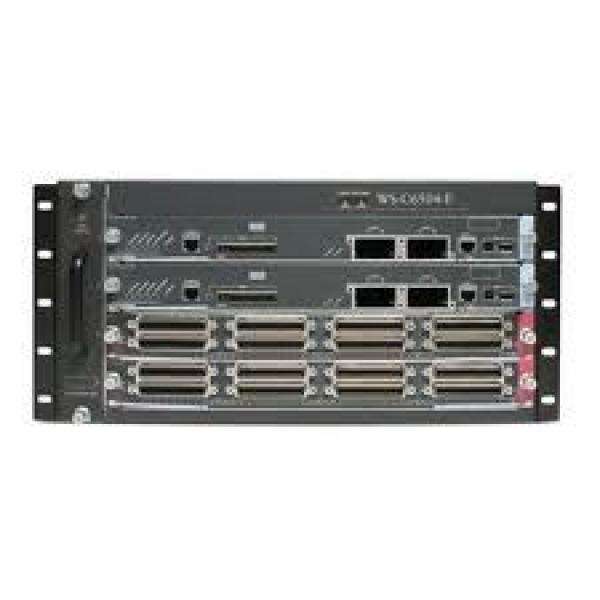 CISCO Catalyst 6500 Enhanced 4-slot WS-C6504-E