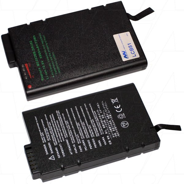Mi Battery 10.8v 75wh / 6900mah Liion Laptop Battery Suit. For Many Models (LCB51)