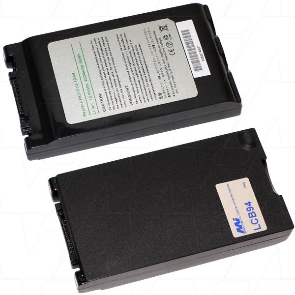 Mi Battery 10.8v 50wh / 4600mah Liion Laptop Battery Suit. For Toshiba (LCB94)