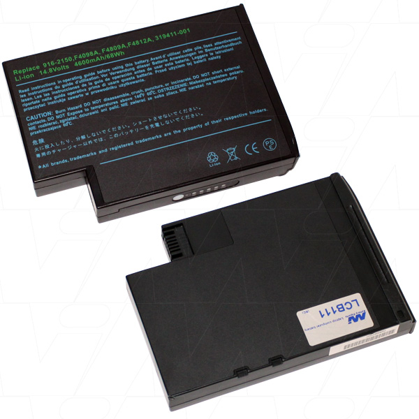 Mi Battery 14.8v 68wh / 4600mah Liion Laptop Battery Suit. For Hp Compaq (LCB111)