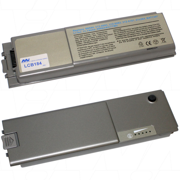Mi Battery 11.1v 77wh / 6900mah Liion Laptop Battery Suit. For Dell (LCB184)