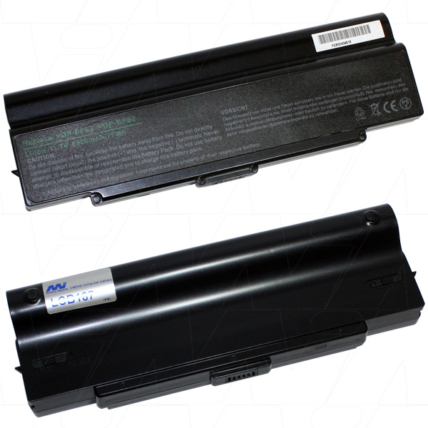 Mi Battery 11.1v 77wh / 6900mah Liion Laptop Battery Suit. For Sony (LCB187)