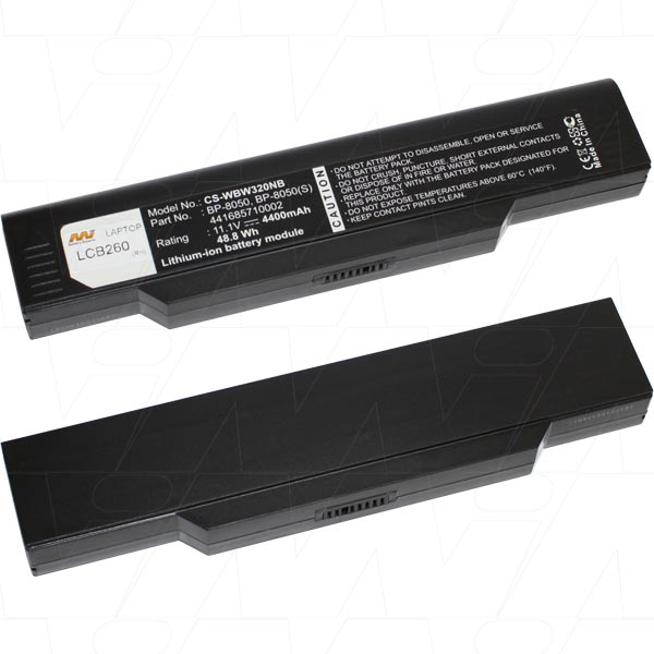 Mi Battery Xperts 10.8v 48wh / 4400mah Liion Laptop Battery Suit. For Many M (LCB260)