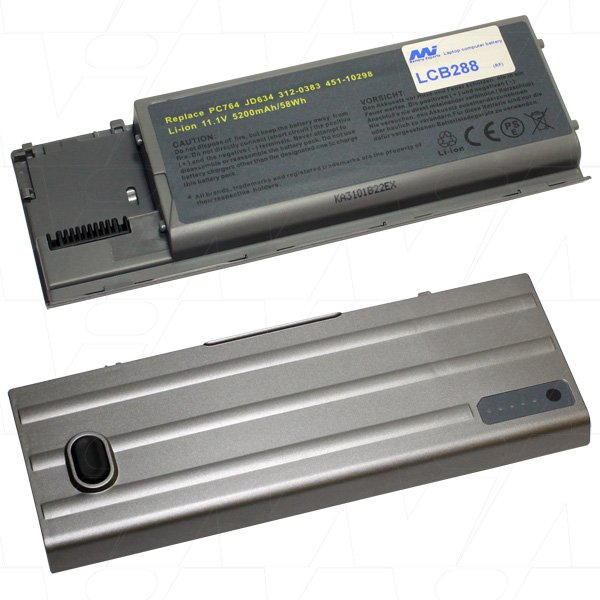 Mi Battery Xperts 11.1v 58wh / 5200mah Liion Laptop Battery Suit. For Dell (LCB288)
