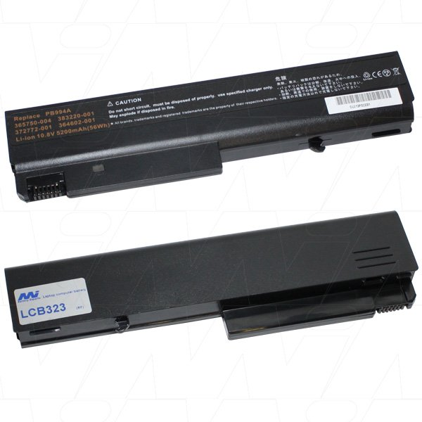 Mi Battery Xperts 10.8v 56wh / 5200mah Liion Laptop Battery Suit. For Compaq (LCB323)