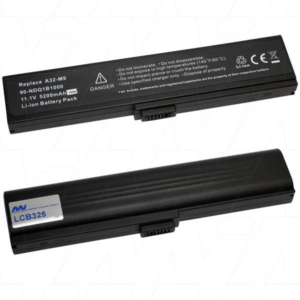 Mi Battery Xperts 11.1v 58wh / 5200mah Liion Laptop Battery Suit. For Asus (LCB325)
