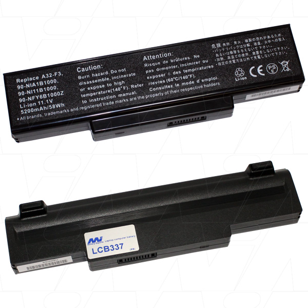 Mi Battery Xperts 11.1v 58wh / 5200mah Liion Laptop Battery Suit. For Many M (LCB337)