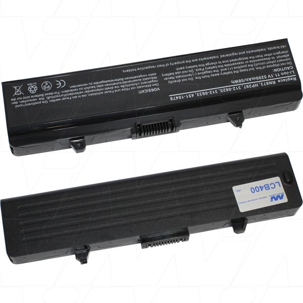 Mi Battery Xperts 11.1v 58wh / 5200mah Liion Laptop Battery Suit. For Dell (LCB400)