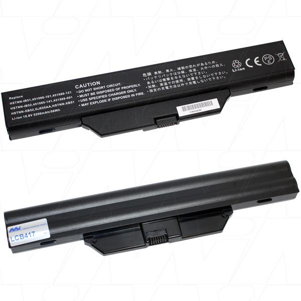 Mi Battery Xperts 10.8v 56wh / 5200mah Liion Laptop Battery Suit. For Hp-com (LCB417)