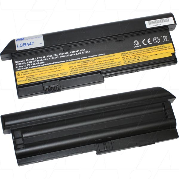 Mi Battery Xperts 10.8v 84wh / 7800mah Liion Laptop Battery Suit. For Lenovo (LCB447)