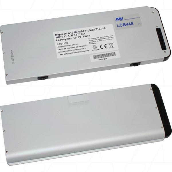 Mi Battery Xperts 10.8v 45wh / 4200mah Lipo Laptop Battery Suit. For Apple M (LCB448)