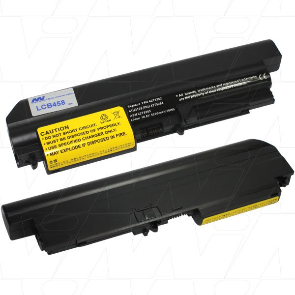 Mi Battery Xperts 10.8v 56wh / 5200mah Liion Laptop Battery Suit. For Lenovo (LCB458)