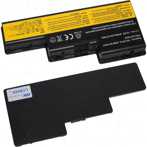 Mi Battery Xperts 10.8v 84wh / 7800mah Liion Laptop Battery Suit. For Lenovo (LCB459)