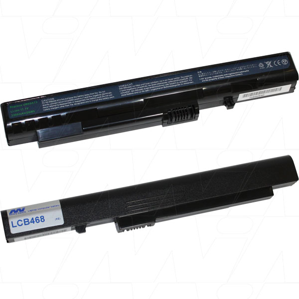 Mi Battery Xperts 11.1v 26wh / 2300mah Liion Laptop Battery Suit. For Acer G (LCB468)
