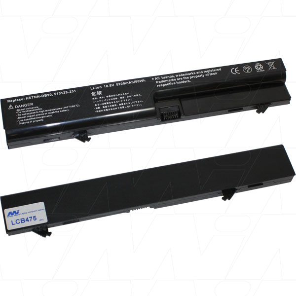 Mi Battery Xperts 10.8v 56wh / 5200mah Liion Laptop Battery Suit. For Hp (LCB475)