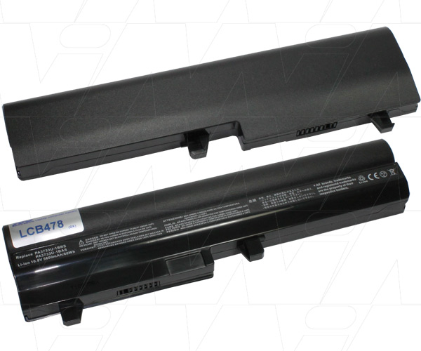 Mi Battery 10.8v 56wh / 5200mah Liion Laptop Battery Suit. For Toshiba (LCB478)