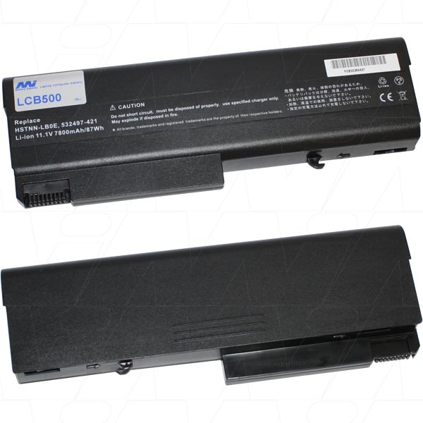 Mi Battery 11.1v 87wh / 7800mah Liion Laptop Battery Suit. For Hp (LCB500)