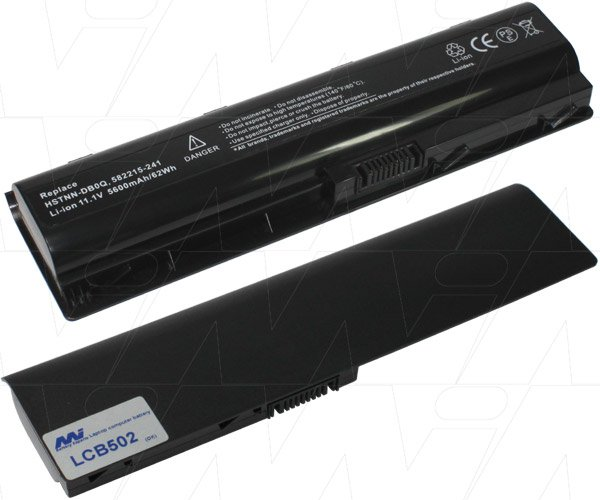 Mi Battery 11.1v 58wh / 5200mah Liion Laptop Battery Suit. For Hp (LCB502)