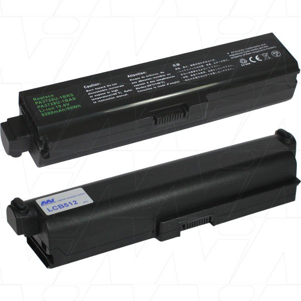 Mi Battery 10.8v 99wh / 9200mah Liion Laptop Battery Suit. For Toshiba (LCB512)