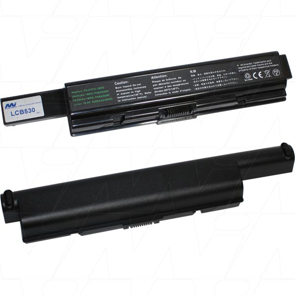 Mi Battery 10.8v 99wh / 9200mah Liion Laptop Battery Suit. For Toshiba (LCB530)
