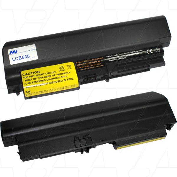 Mi Battery 10.8v 84wh / 7800mah Liion Laptop Battery Suit. For Lenovo (LCB535)