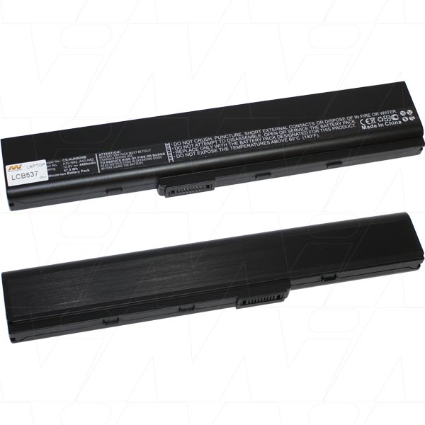 Mi Battery 10.8v 51wh / 4600mah Liion Laptop Battery Suit. For Asus (LCB537)