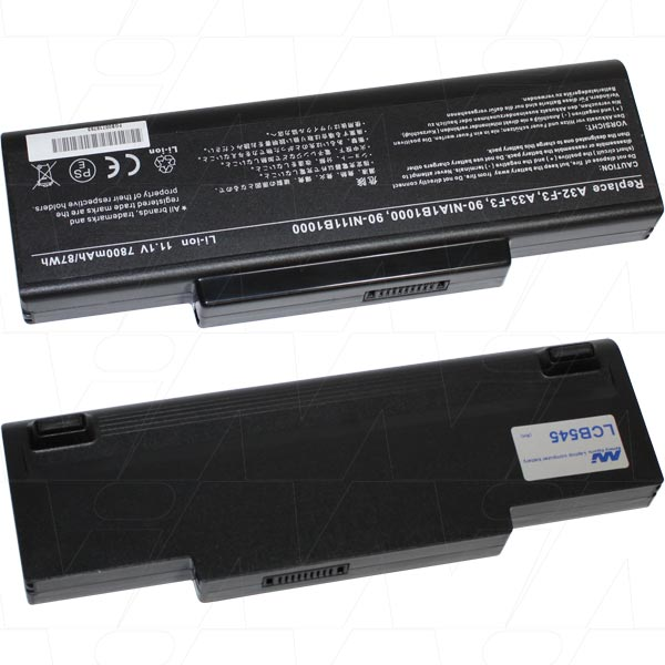 Mi Battery 11.1v 87wh / 6900mah Liion Laptop Battery Suit. For Asus (LCB545)