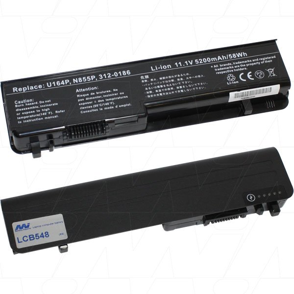 Mi Battery 11.1v 58wh / 5200mah Liion Laptop Battery Suit. For Dell (LCB548)