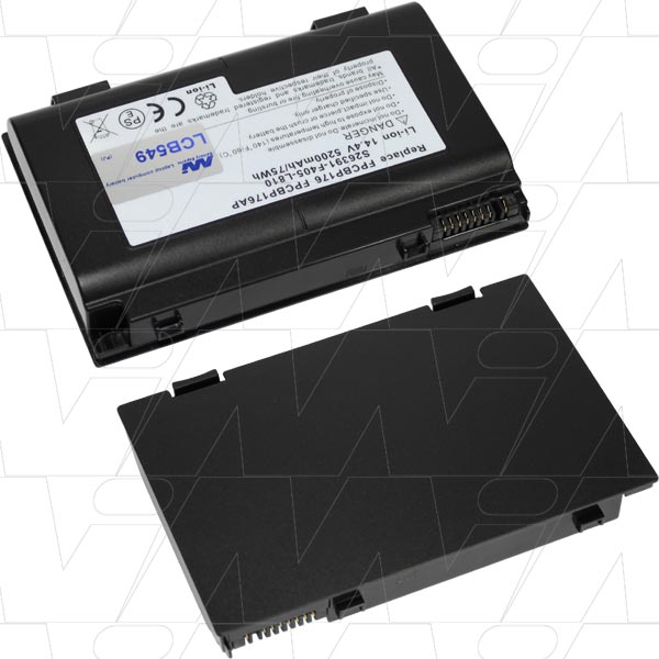 Mi Battery 14.8v 77wh / 5200mah Liion Laptop Battery Suit. For Fujitsu (LCB549)