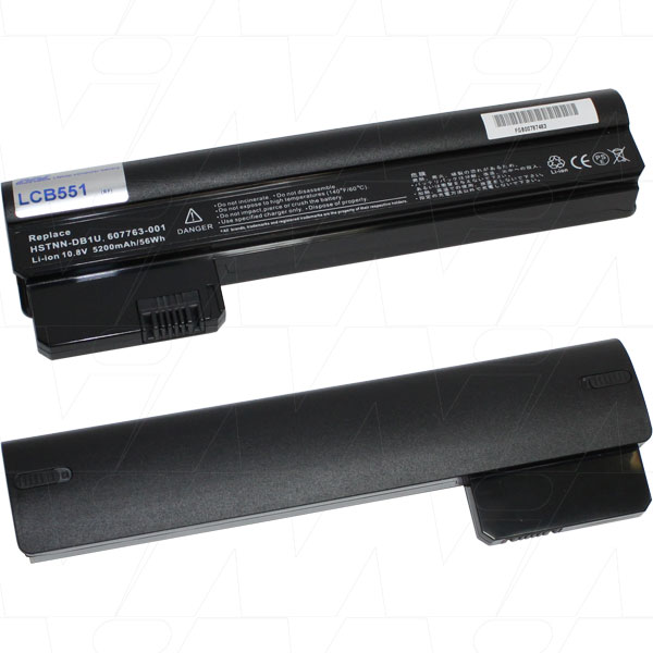 Mi Battery 10.8v 56wh / 5200mah Liion Laptop Battery Suit. For Compaq/hp (LCB551)