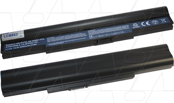 Mi Battery 14.8v 77wh / 5200mah Liion Laptop Battery Suit. For Acer (LCB562)