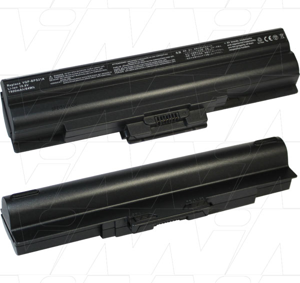 Mi Battery Xperts 10.8v 84wh / 7800mah Liion Laptop Battery Suit. For Sony (LCB573)