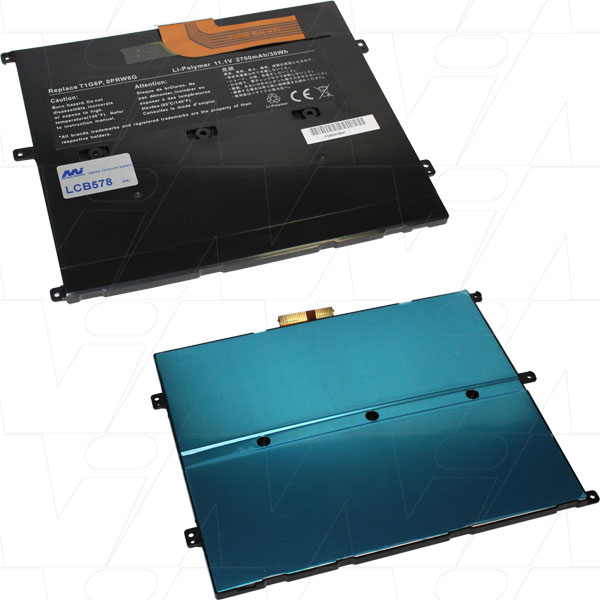 Mi Battery Xperts 11.1v 30wh / 2700mah Liion Laptop Battery Suit. For Dell (LCB578)