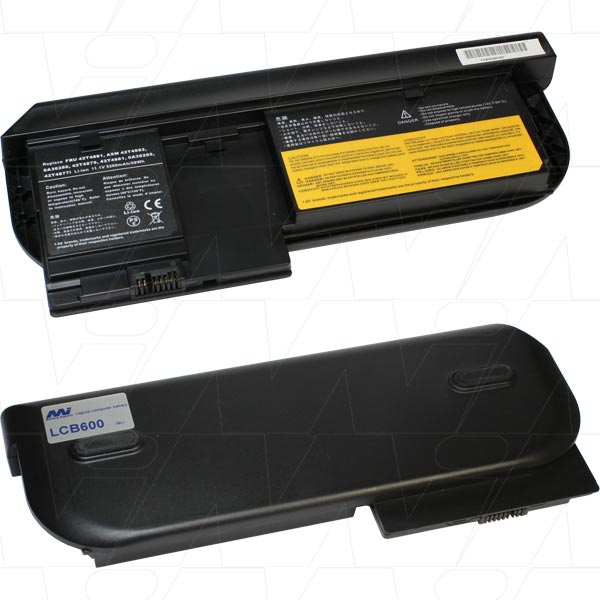 Mi Battery Xperts 11.1v 58wh / 5200mah Liion Laptop Battery Suit. For Lenovo (LCB600)
