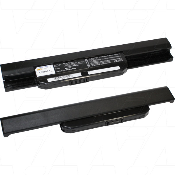 Mi Battery Xperts 11.1v 51 Wh / 4600mah Liion Laptop Battery Suit. For Asus (LCB634)