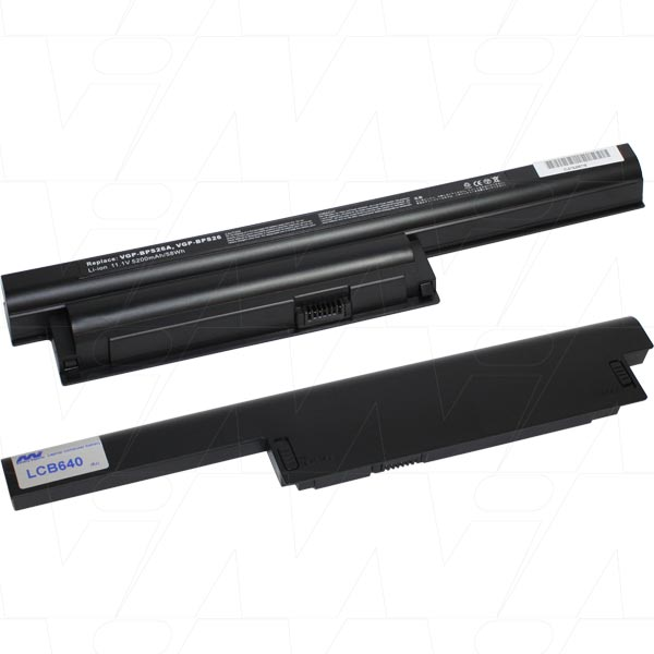 Mi Battery 11.1v 58wh / 5200mah Liion Laptop Battery Suit. For Sony (LCB640)