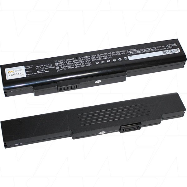 Mi Battery 11.1v 65wh / 4400mah Liion Laptop Battery Suit. For Msi (LCB643)