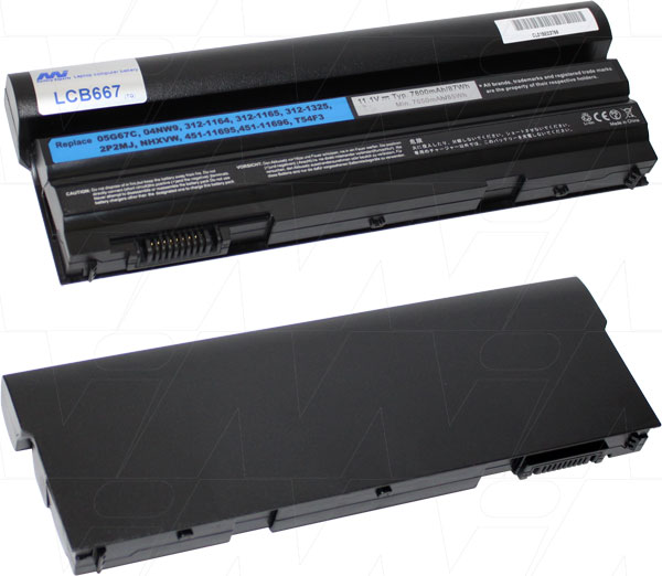 Mi Battery 11.1v 86.58wh / 7800mah Liion Laptop Battery Suit. For Dell (LCB667)