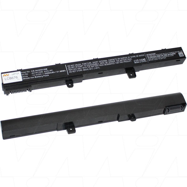 Mi Battery 14.4v 31.68wh / 2200mah Liion Laptop Battery Suit. For Asus (LCB676)