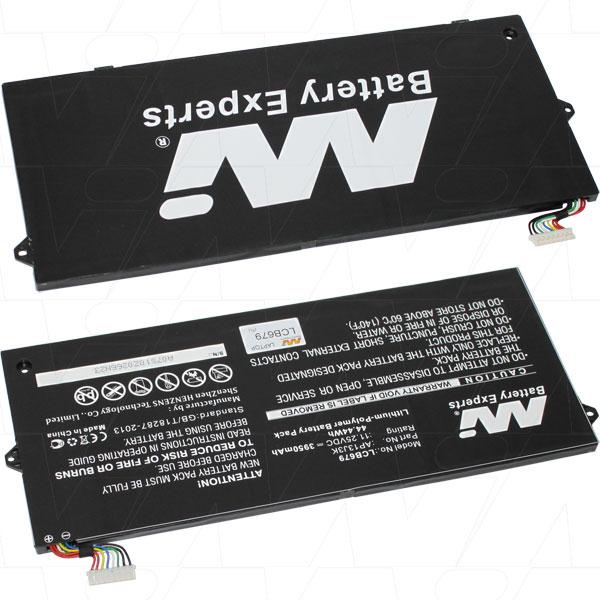 Mi Battery 11.25v 44.44wh / 3950mah Lipo Battery Suit. For Acer (LCB679)
