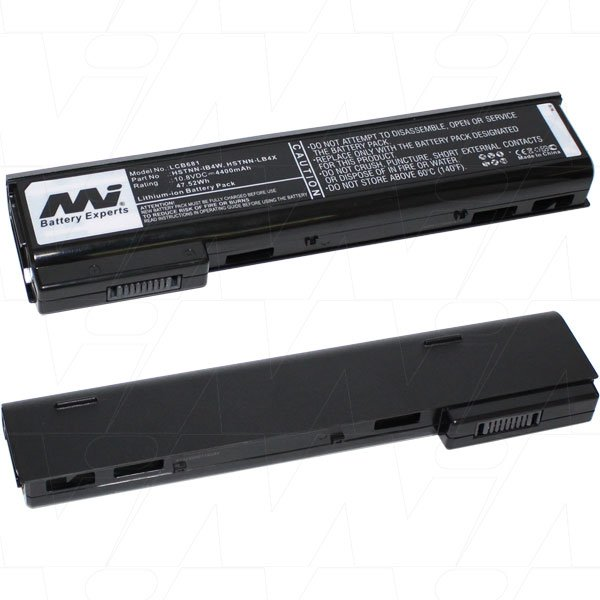 Mi Battery 10.8v 56.16wh / 5200mah Liion Laptop Battery Suit. For Hp (LCB681)
