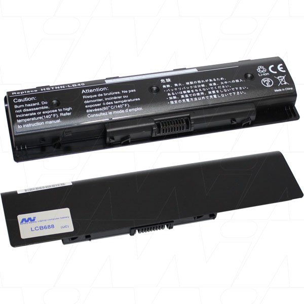 Mi Battery 11.1v 58wh / 5200mah Liion Laptop Battery Suit. For Hp (LCB688)