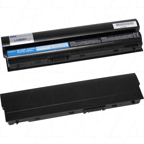 Mi Battery 11.1v 58wh / 5200mah Liion Laptop Battery Suit. For Dell (LCB693)