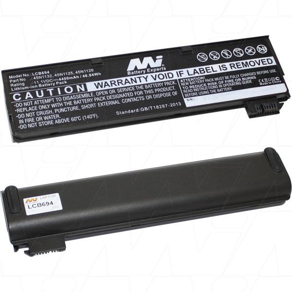 Mi Battery 11.1v 48.84wh / 4400mah Liion Laptop Battery Suit. For Lenovo (LCB694)