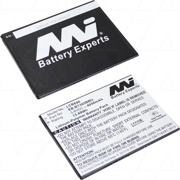 Mi Battery 3.8v 15.39wh / 4050mah Lipo Laptop Battery Suit. For Samsung (LCB698)