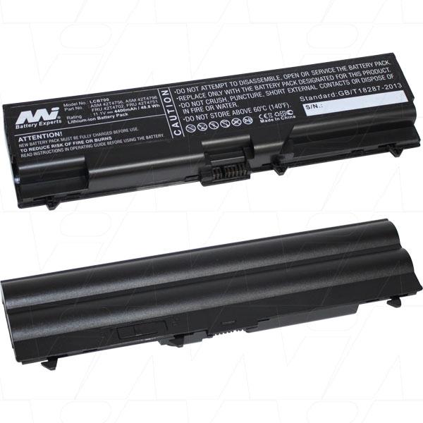 Mi Battery 11.1v 48.84wh / 4400mah Liion Laptop Battery Suit. For Lenovo (LCB700)