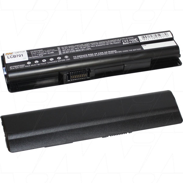 Mi Battery 11.1v 48.84wh / 4400mah Liion Laptop Battery Suit. For Medion/msi (LCB701)