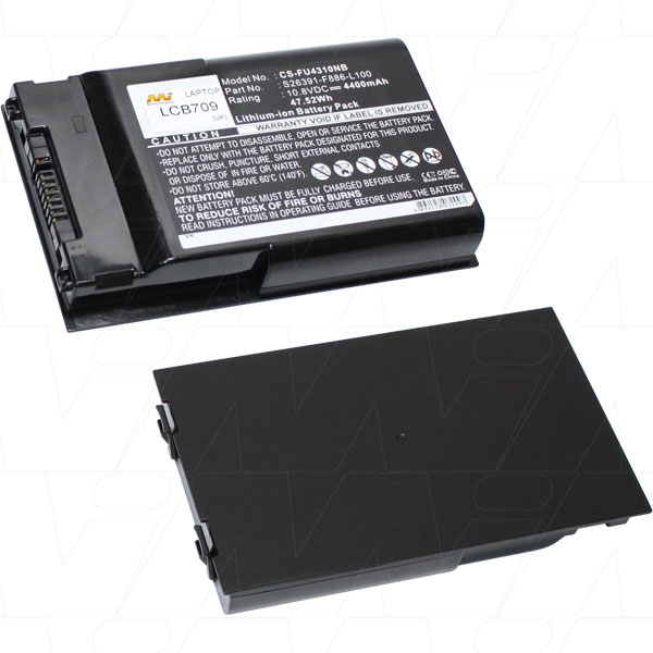 Mi Battery 10.8v 47.52wh / 4400mah Liion Laptop Battery Suit. For Fujitsu (LCB709)