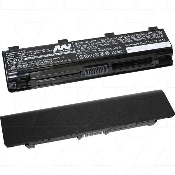 Mi Battery 10.8v 45.36wh / 4200mah Liion Laptop Battery Suit. For Toshiba (LCB717)